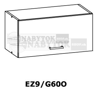 ab8ed59f8df5 Sektorová kuchynská linka ELIZA skrinka horná digestorová EZ9 G60O ...