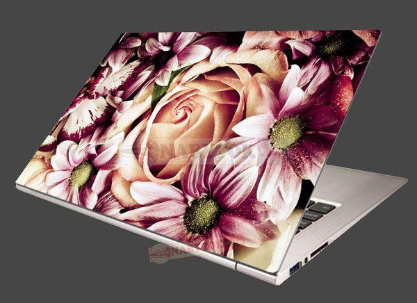 a2246233c09 Nálepka na notebook Kytica kvetov - KVETY - NÁLEPKY NA NOTEBOOK ...
