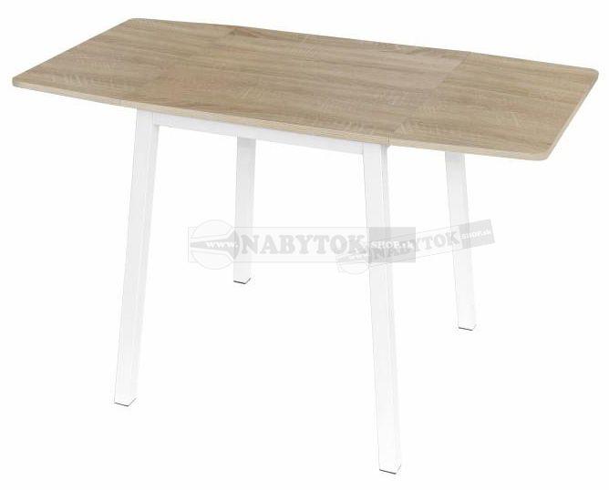 1c0c6caae016d farba: dub sonoma / biela, stôl MAURO, rozkladanie - ilustračný obrázok